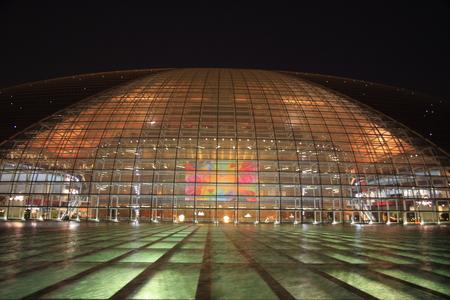 China National Grand Theater Night
