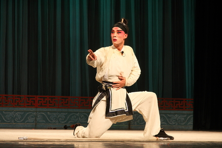 besiege: Wu Jinhua known opera drama, popular Jinhua area.