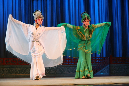 largest: Wu Opera Broken. Wu Jinhua known opera drama, popular Jinhua area, because of the history of Jinhua Wuzhou named Su said, so far, more than 400 years of history, is the second largest opera Zhejiang Province, the national intangible cultural heritage. Editorial