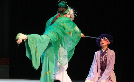 largest: Wu Opera \\ \ Broken. \\\ Wu Jinhua known opera drama, popular Jinhua area, because of the history of Jinhua Wuzhou named Su said, so far, more than 400 years of history, is the second largest opera Zhejiang Province , the national intangible cu