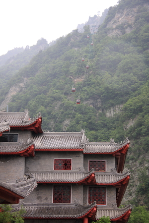 hubei province: Taoist Temple - Wudang Mountain in Shiyan City, Hubei Province territory, the big mountain Taihe Palace, Mirage, the mountain fortress around a week back, the name Forbidden City.