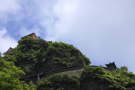 hubei province:  Wudang Taoist mountains and also the birthplace of Wudang martial arts.