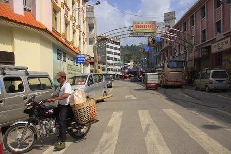 crossings: Wanting port located Dehong Dai-Jingpo Autonomous Prefecture in northern Burma.