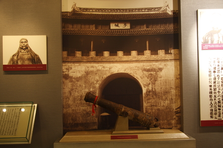 ze: Nanhu Revolutionary Memorial Hall to commemorate the first National Congress of the Communist Party of China Jiaxing Nanhu closing and construction of a monumental building. Pictured artifacts.