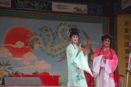 """cultural history: Lake Theatre, formerly known as  """"Huzhou tanhuang """" prevalent in Huzhou, Jiaxing, Hangzhou Yuhang district and other places, there are about a hundred years of history. Lake play was included in the second batch of intangible cultural heritage"""