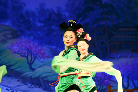 song dynasty: Traditional dance in the Shaanxi Province