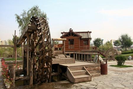 waterwheel: Waterwheel park in Lanzhou