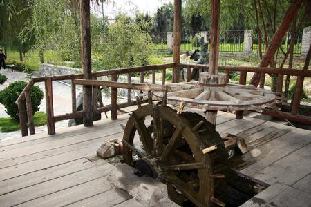 waterwheel: Waterwheel Park at Lanzhou, China