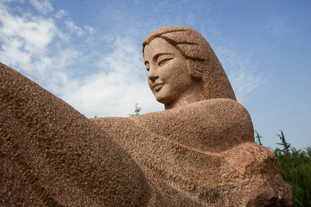 descendants: Yellow River Mother Sculpture