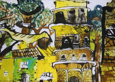 children painting: creative children painting