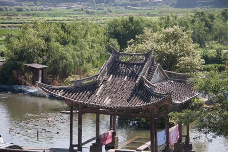 yunnan: Ancient buildings at Yunnan Province