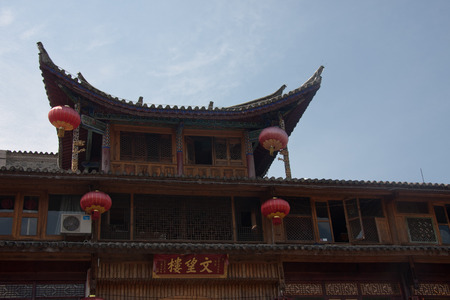 expeditionary: watchtower, located in Tengchong County, Yunnan Province Heshun town, the town house from east to west, mountains and built, gradually ascending, stretching twenty-three km. Now retains a seat temple, shrine, Ming and Qing architecture. Editorial