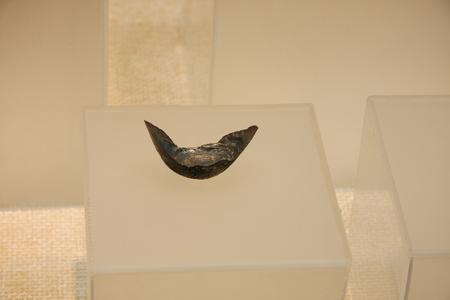 silver ingots: Silver ingots (Ming), collections in Huzhou, Zhejiang Museum.