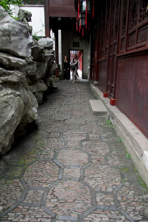 visitors area: Shanghai Temple tourist area is important Taoist temples in Shanghai,visitors visit around