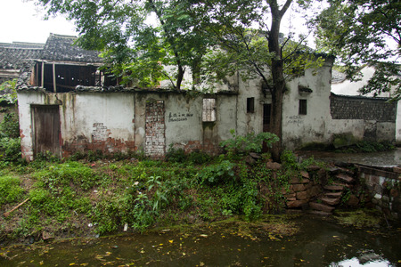 water town: Old buildings in Jiangnan water town Editorial