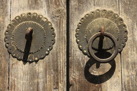 the humanities landscape: Door handle, Suzhou Xishan