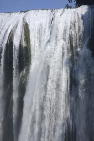 shu: Close up of Huang Guo Shu waterfall