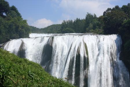 shu: Famous waterfall in the world - Huang Guo Shu Waterfall Stock Photo