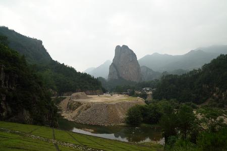 river rock: Shiwei on nanxi River Rock