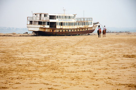 scenic spots: scenic spots of golden sand beach Editorial