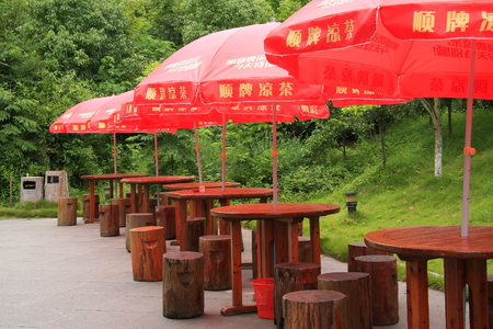 tea house: Liyang city, tianmu Lake is located in Changzhou , For dining tables, tea house. Editorial