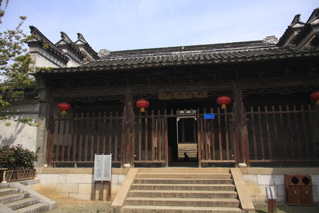 bilding: ancient bilding at Xishan Island
