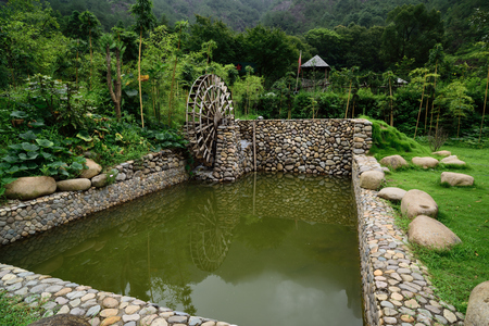 irrigate: water to irrigate the fields.