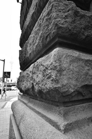 foreign trade: street pillar