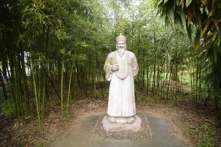 tang: Tang Xianzus statue