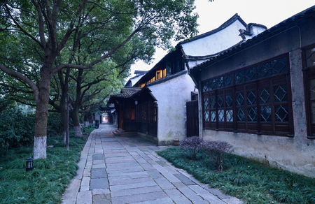 sesame street: Water Street. Wuzhen is a typical southern Chinese town, land of plenty, of silk, said.