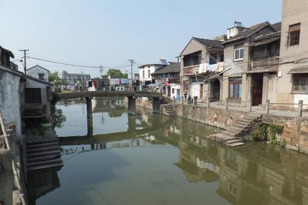Jiangnan Town Shuanglin 版權商用圖片