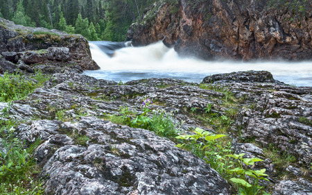 north cascade national park: A river flowing in Lapland