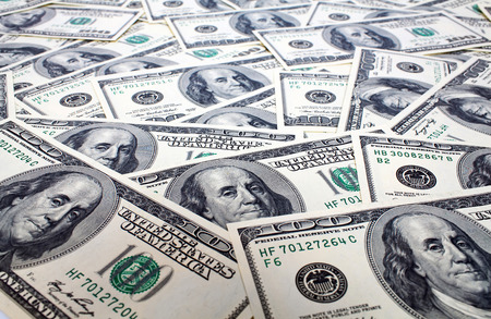 Hundred US Dollars Background