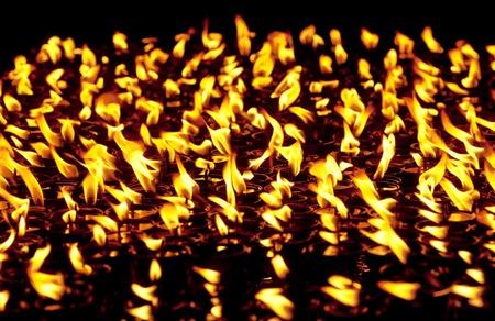 divali: Candles at Boudhanath temple in Kathmandu, Nepal