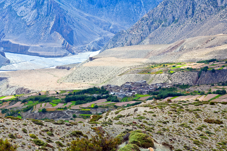 kali: Kali Gandaki valley in Mustang region, Nepal