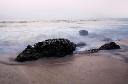 ocean state: Ocean landscape in Kerala state, South India