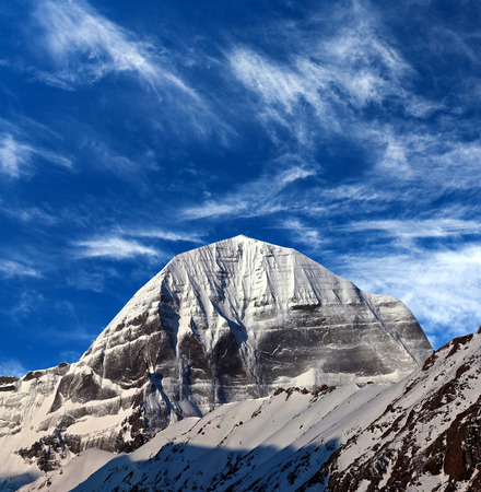 jainism: Mount Kailash (elevation 6638 m), which are part of the Transhimalaya in Tibet. It is considered a sacred place in four religions: Bon, Buddhism, Hinduism and Jainism.