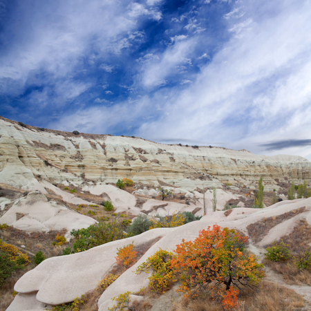 Autumn in White Valley, Cappadocia, Turkey