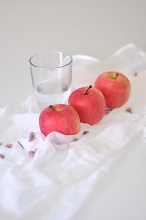 medium body: still life of apple Stock Photo