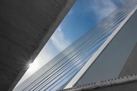 The details of construction of a suspension bridge