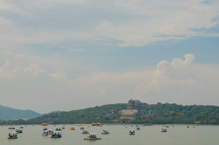 chinoiserie: The summer palace in Beijing