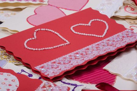 Post cards. Invitations to wedding Stock Photo - 4769023